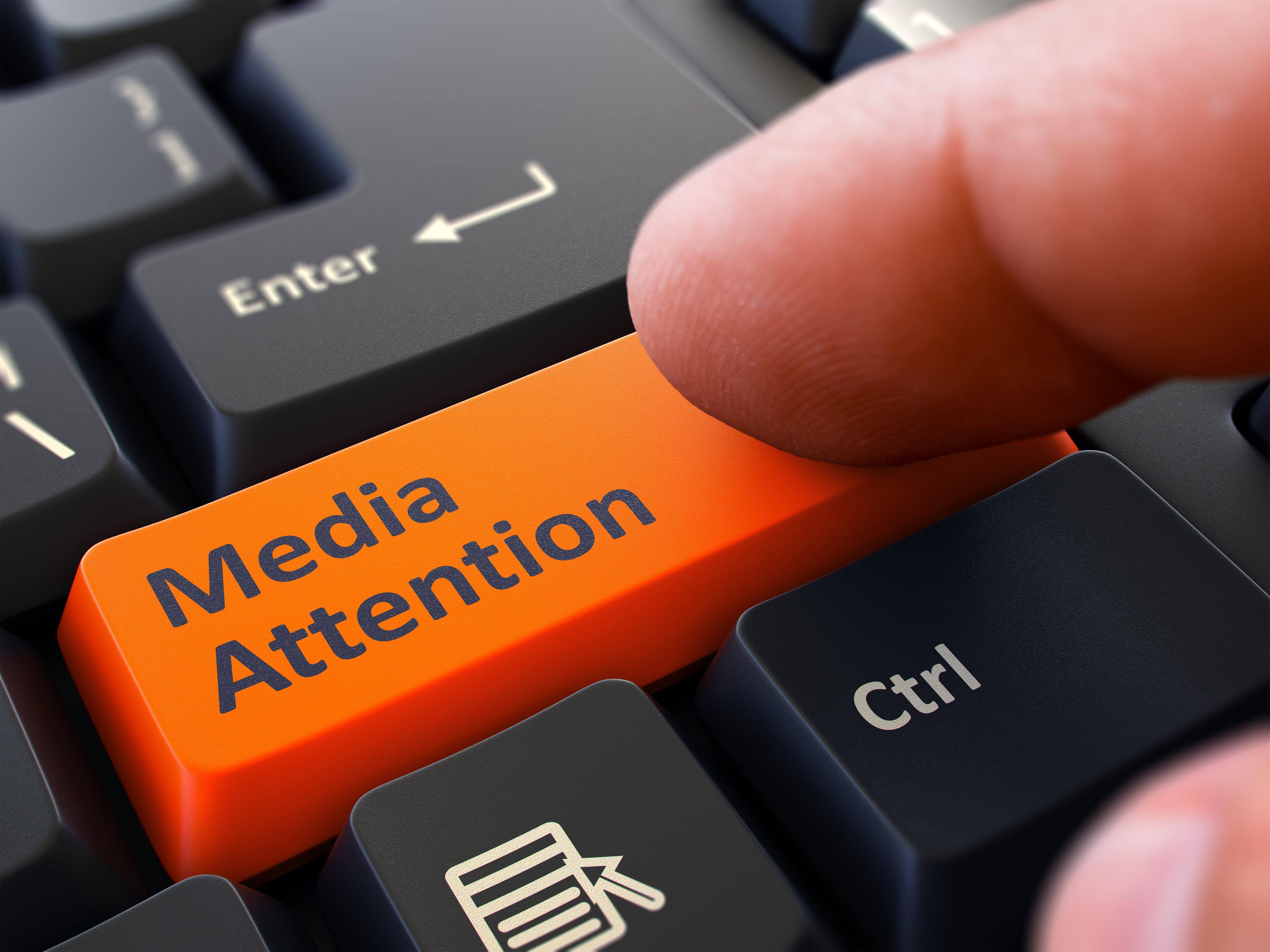 Digital Marketing PHoto #6 -- Media Attention