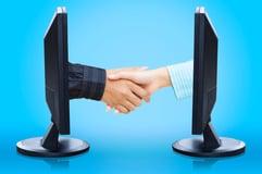 Virtual Handshake Photo for NTMA Op-Ed